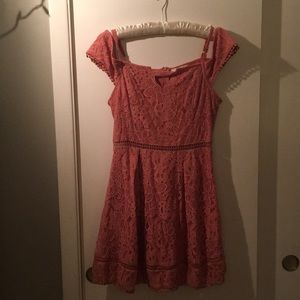 Francesca's Collections Dresses - Francesca's NWT floral lace dress